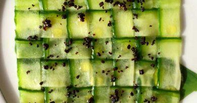 recette à base de concombre