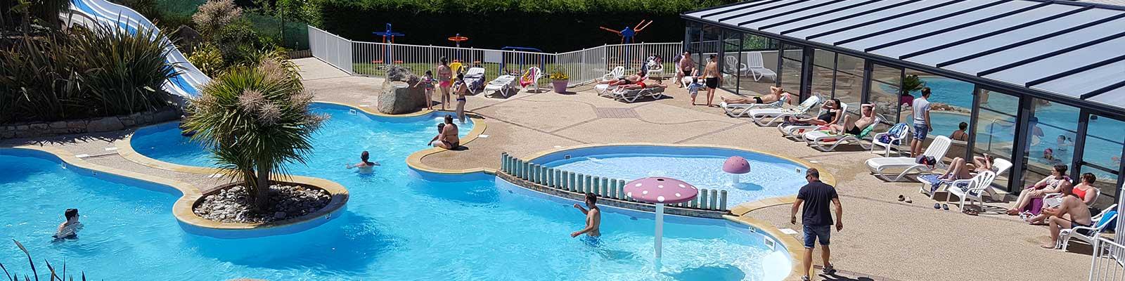 camping avec piscine morbihan
